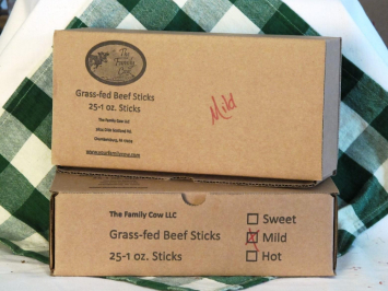 Case Mild Beef Sticks