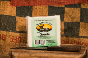 Goat Cheese - Raw Gouda