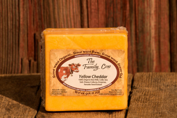 Yellow Cheddar - 1 lb. avg. Block