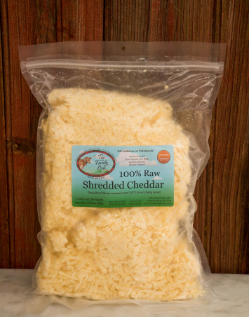 Large Shredded Cheddar (2.5 lb.)