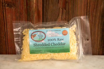 Small Shredded Cheddar (1/2 lb.)