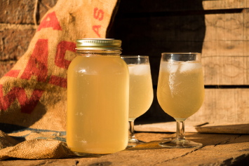 Chilled Cider Water Kefir