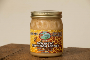 Case - Holistic Cappings Honey - 12 jars