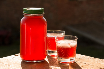 Aronia Berry Water Kefir