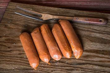 Old-Fashioned Pork Hot Dogs