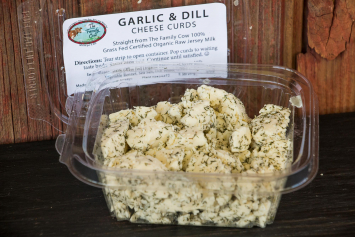Garlic & Dill Cheese Curds