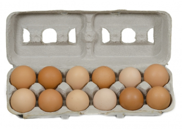 Medium Soy-free Eggs - 1 Dozen