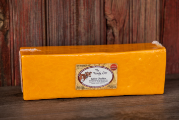 Yellow Cheddar - 5 lb. Block