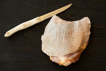 Soy-Free Pastured Turkey Thighs