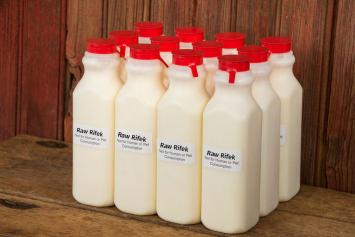 12 Pack Raw Milk Rifek