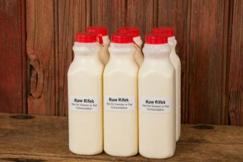 6 Pack Raw Milk Rifek