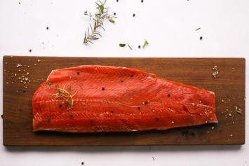 Alaskan Wild Caught Sockeye Salmon