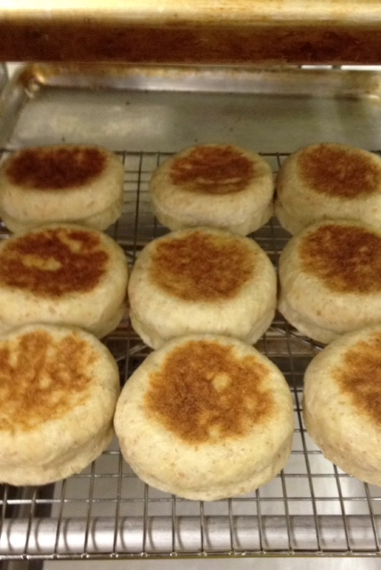 Breads, Sourdough English Muffins