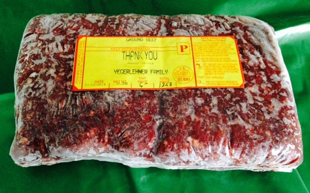 Beef, Ground Beef, 2 lb. extra lean