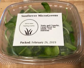 MicroGreens, Sunflower