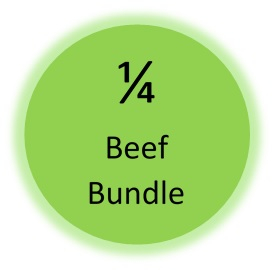 Beef, 1/4 beef bundle
