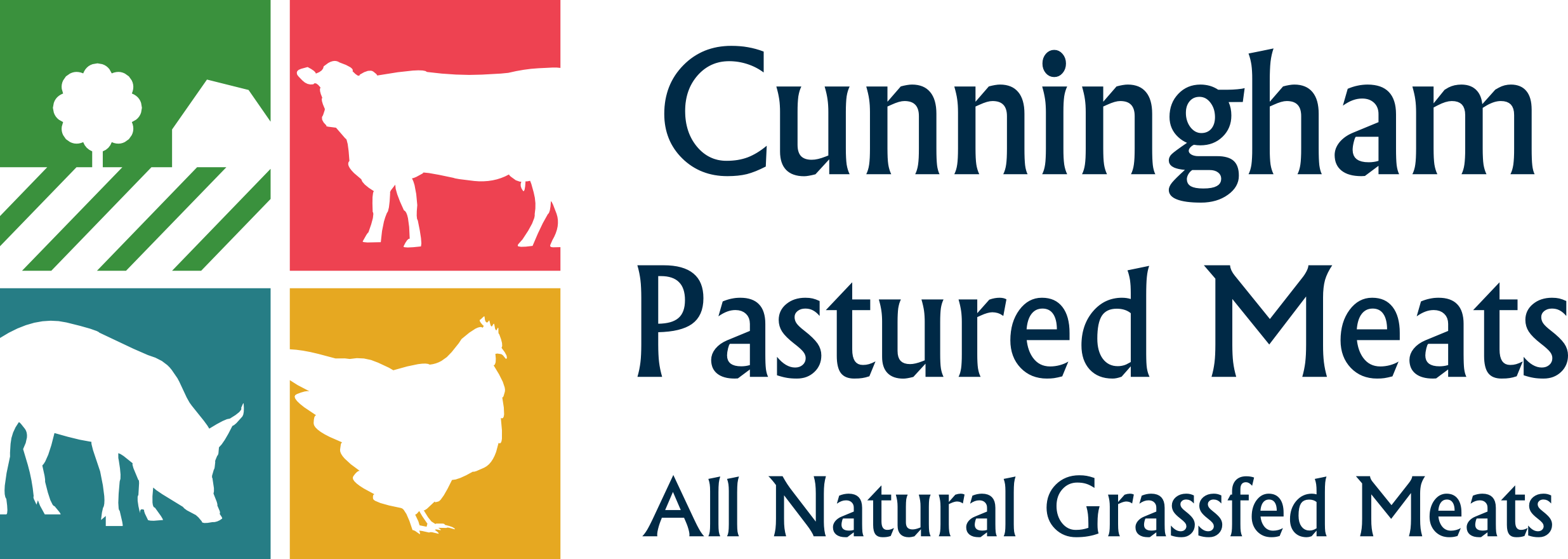 Cunningham Pastured Meats Logo