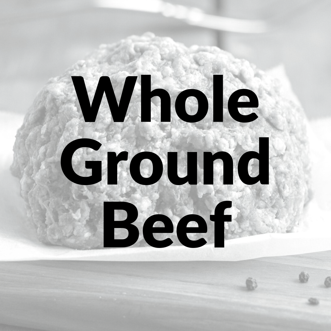 Bulk Ground Beef Whole NonRefundable Deposit