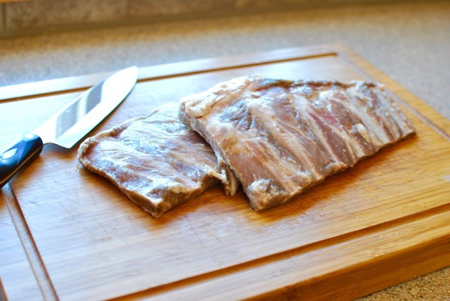 Pork Ribs St. Louis Style