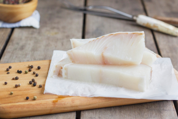 Alaskan Halibut Portion