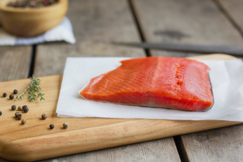 Alaskan Sockeye Salmon Portion