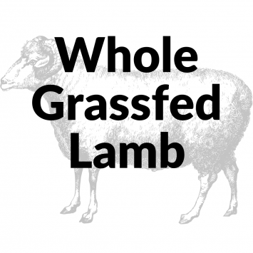 Bulk Grassfed Lamb Whole NonRefundable Deposit