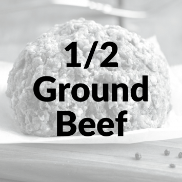Bulk Ground Beef 1/2 NonRefundable Deposit