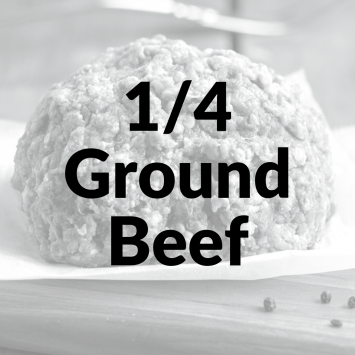 Bulk Ground Beef 1/4 NonRefundable Deposit