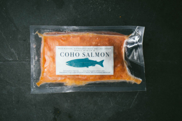 Coho Salmon Burger - Idaho Local Fisherman