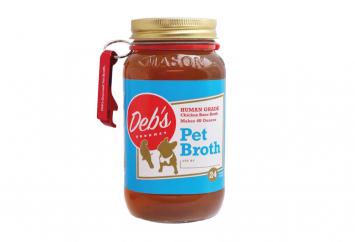 3 PK - Deb's Pet Broth Concentrate
