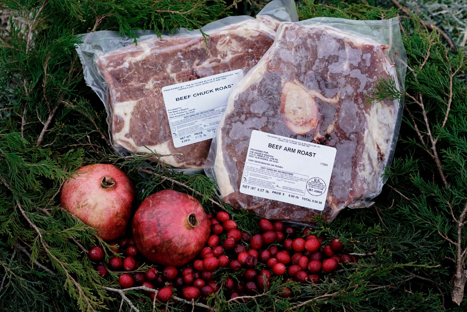 Holiday Beef Roast Pack