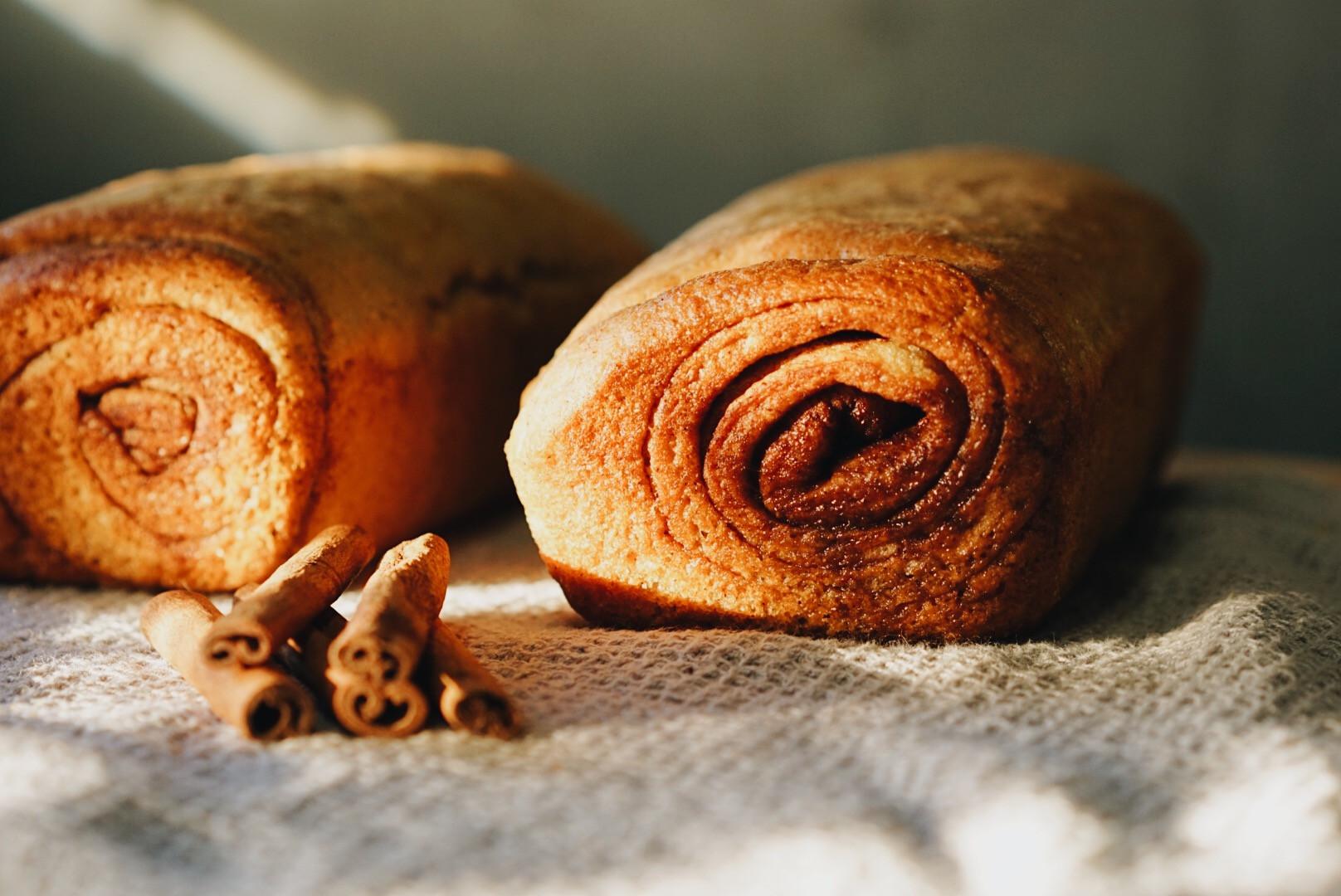 Whole Wheat Cinnamon Bread