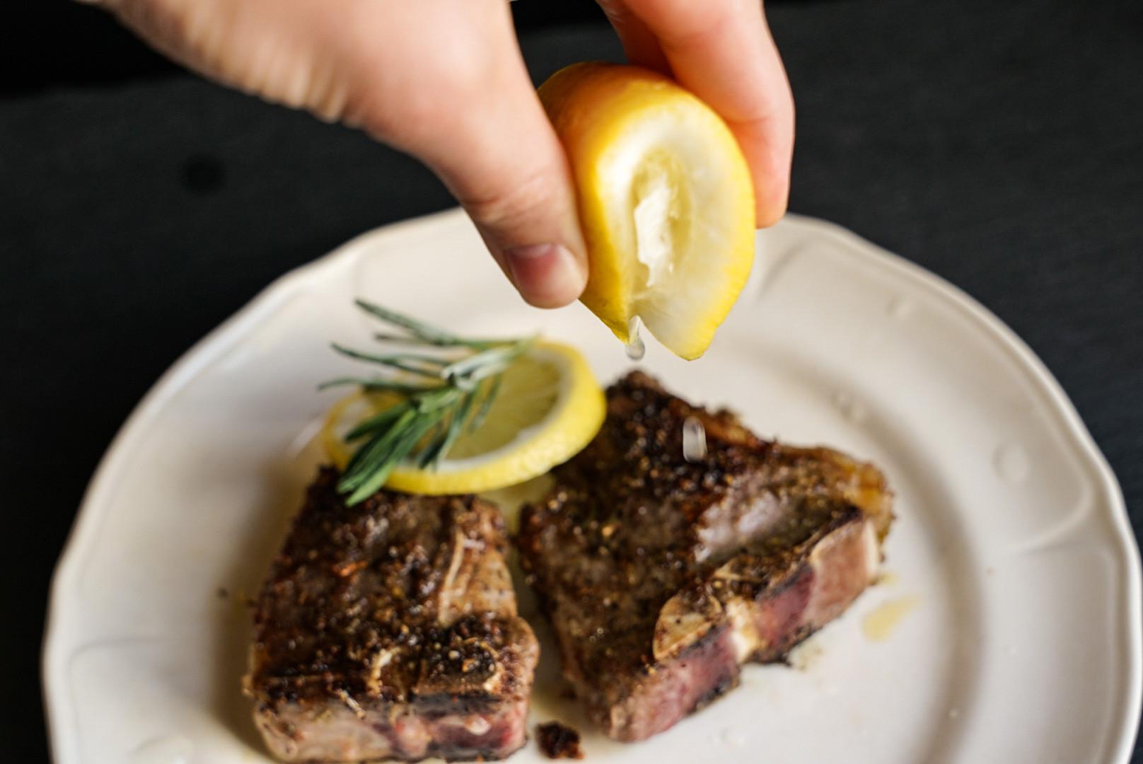 Lamb loin chop recipe