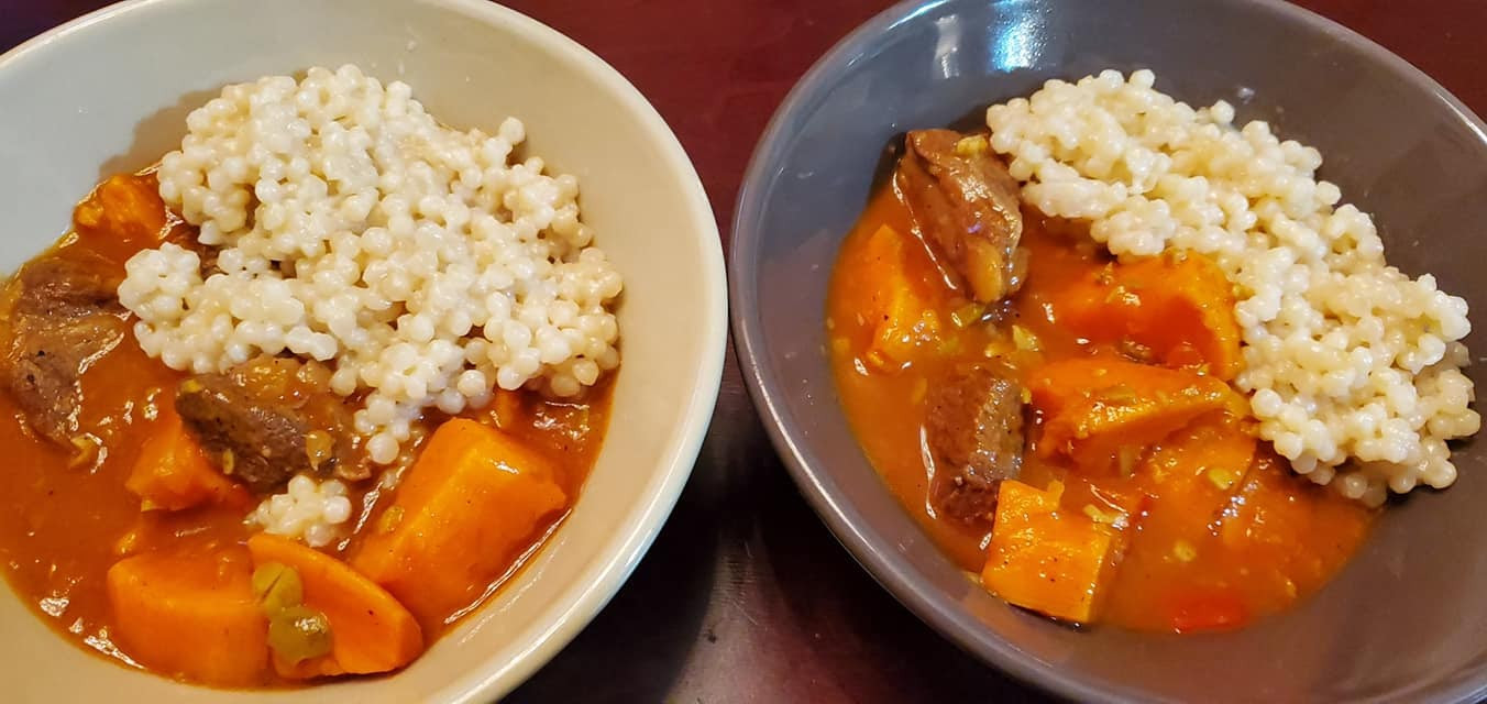 Hearty Moroccan Lamb (or Beef) Stew