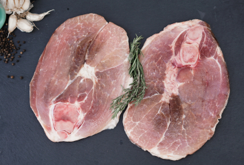 Traditional Style Pork Ham Slices
