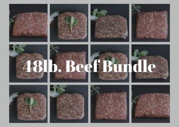 48 lb Ground Beef Bundle