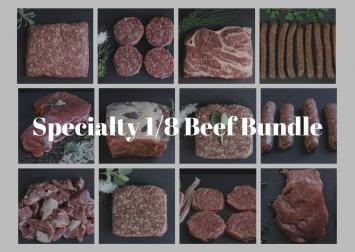 Specialty 1/8th Beef Bundle