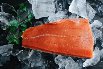 Wild Alaskan Sockeye Salmon Fillet (Boneless)