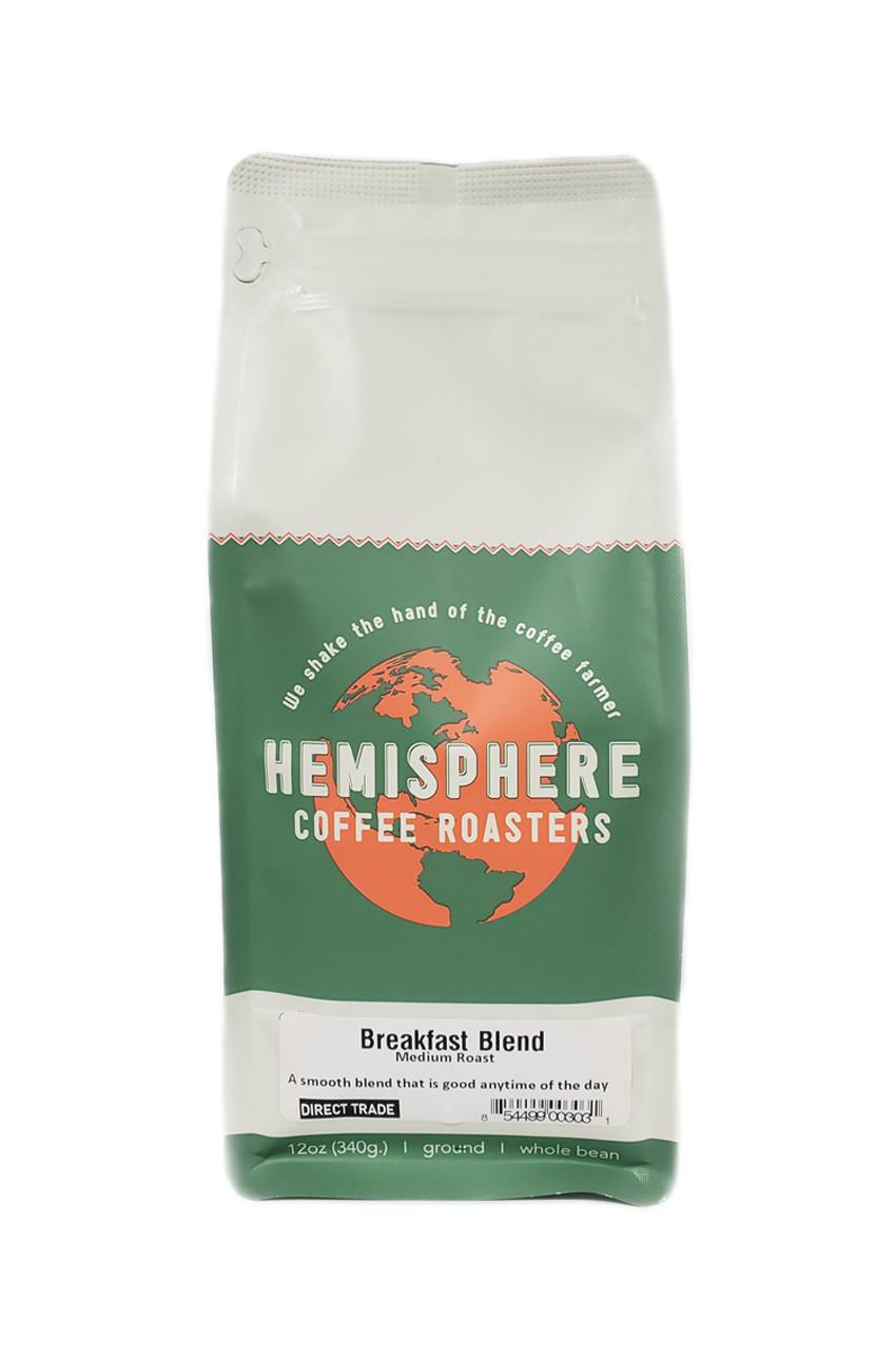 Hemisphere Breakfast Blend Ground Coffee (12 oz. bag)