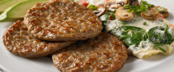 Breakfast Sausage Patties (4 - 4 oz. patties)