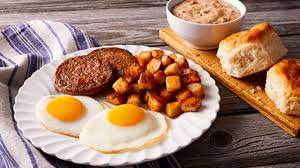 Southern Breakfast Sausage Patties  (4 - 4 oz. patties)