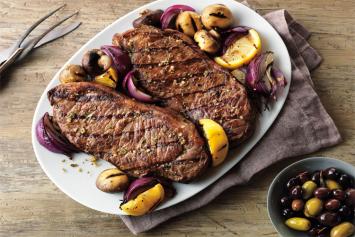 Angus Strip Steaks (2/pkg)