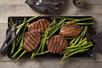 Angus Sirloin Steaks (4/pkg)