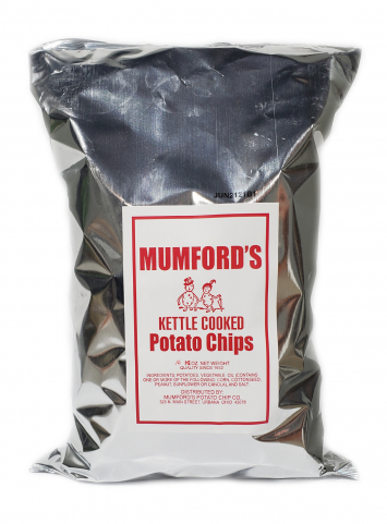Mumford's Kettle Cooked Potato Chips (16 oz. bag)