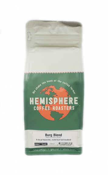 Hemisphere Burg Blend Ground Coffee (12 oz. bag)
