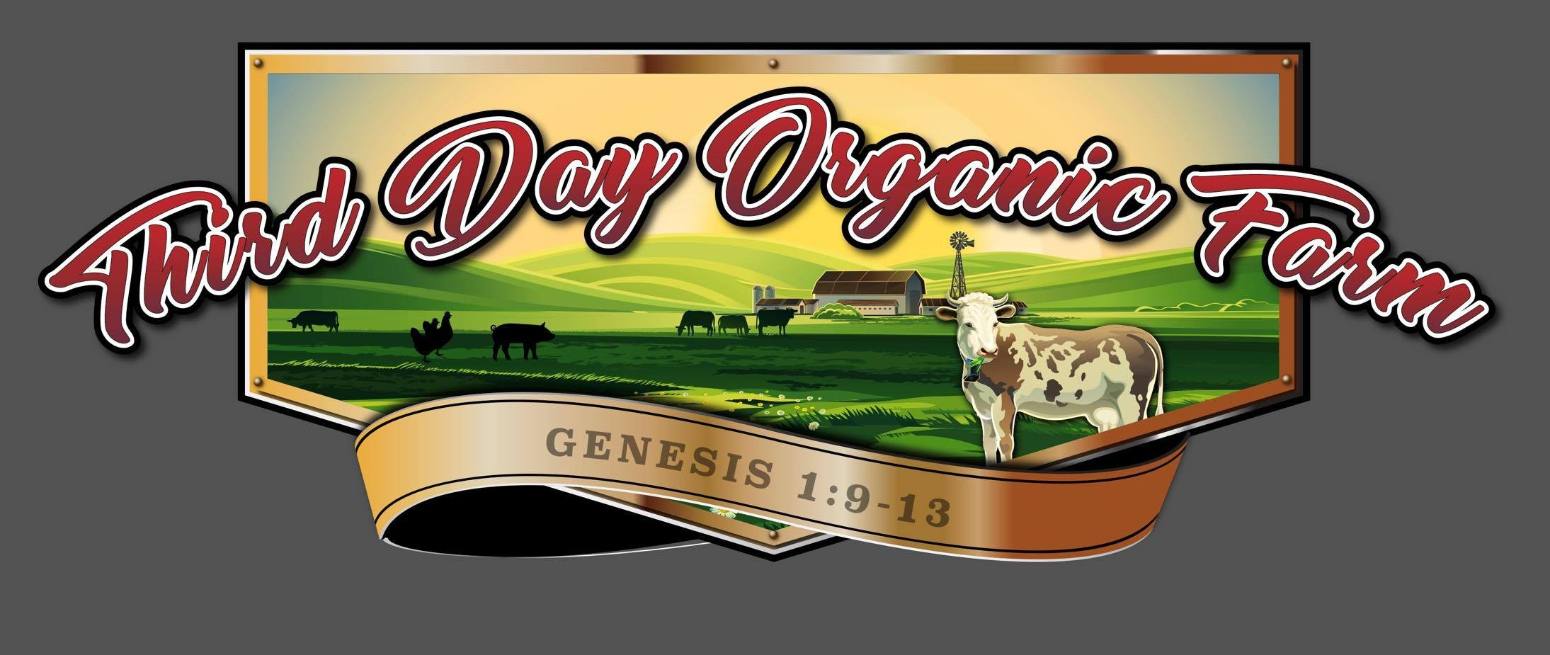 Third Day Organic Farm Logo