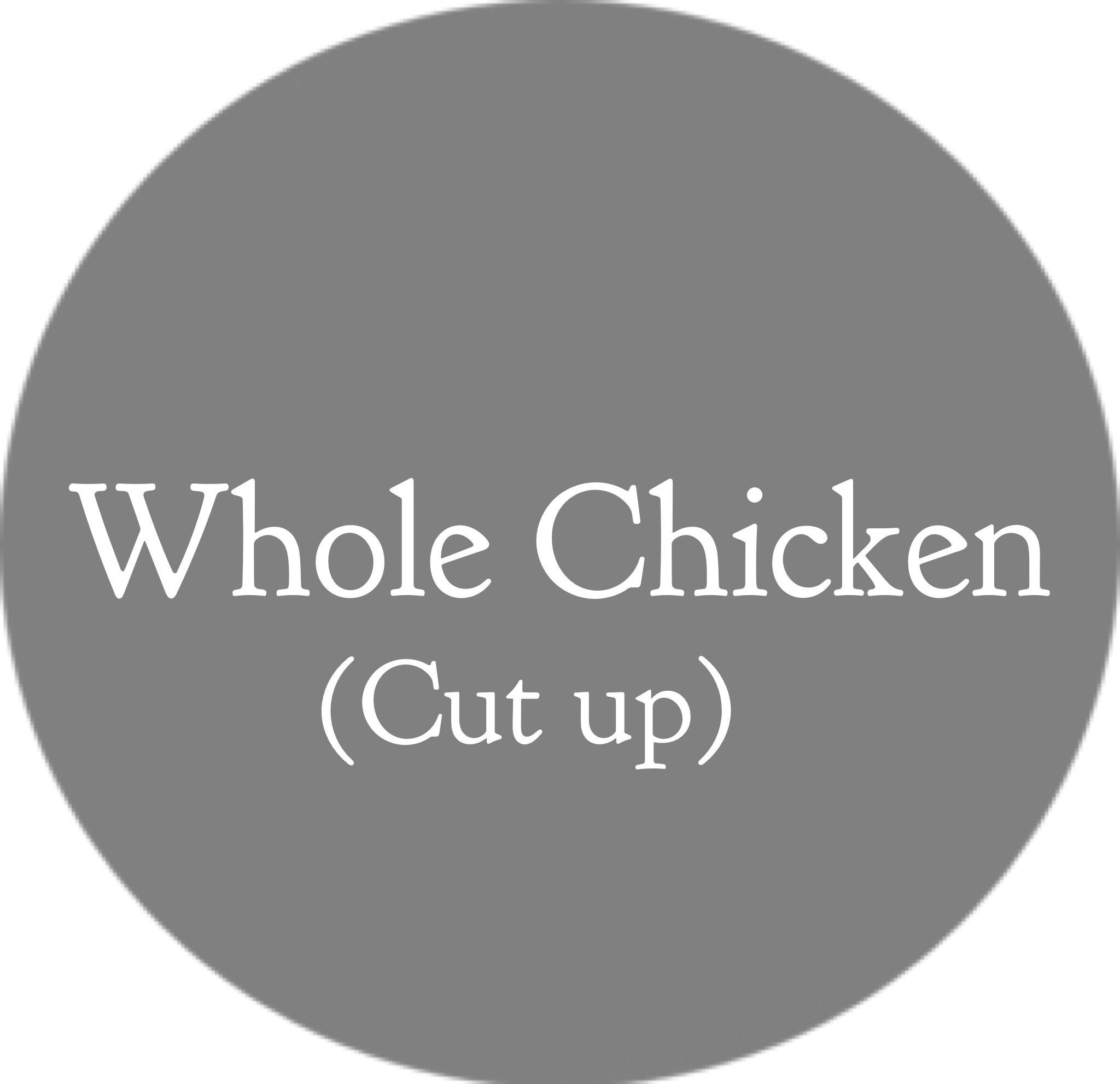 Chicken (Whole Chicken, Cut up)