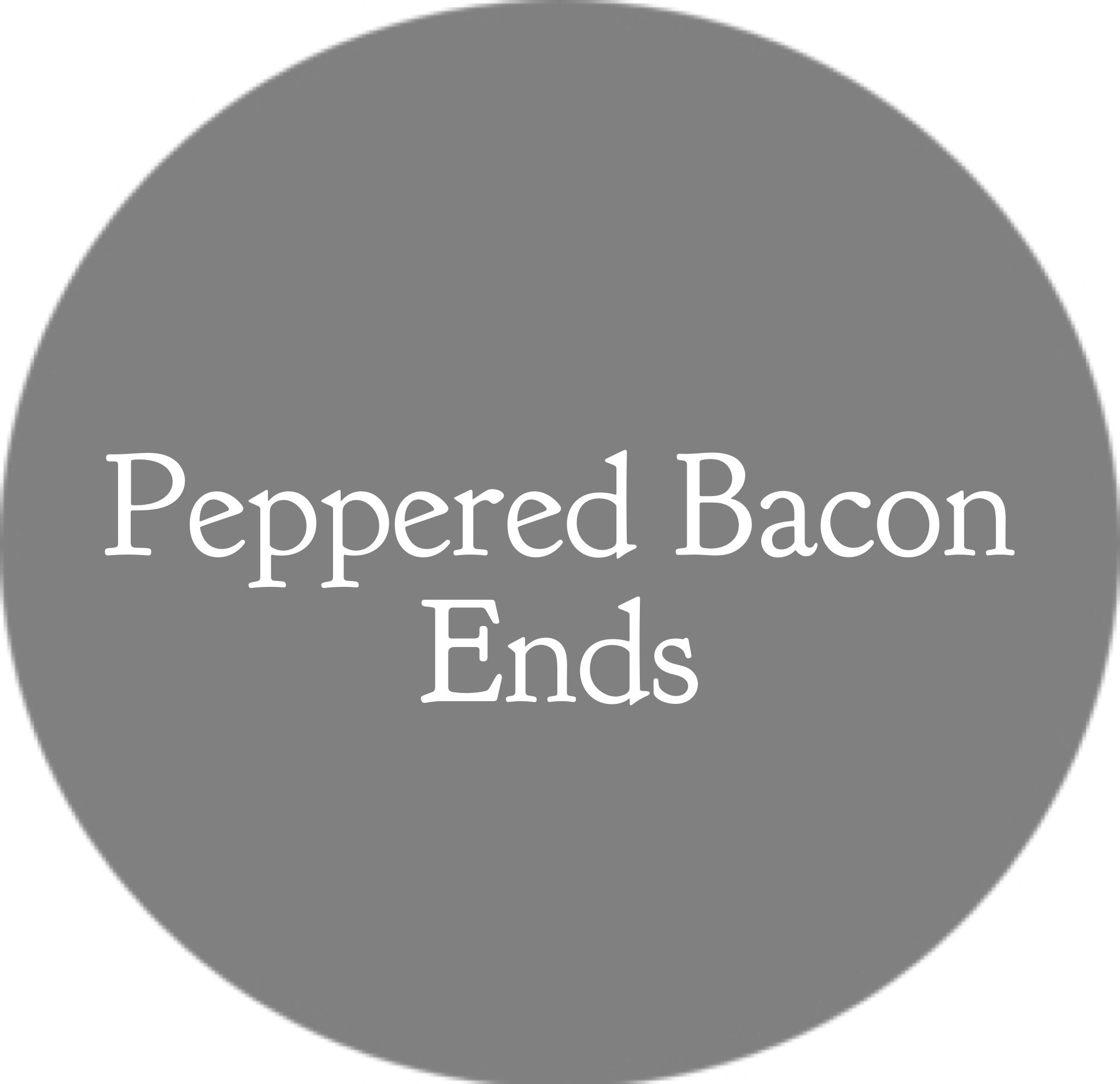 Peppered Bacon Ends