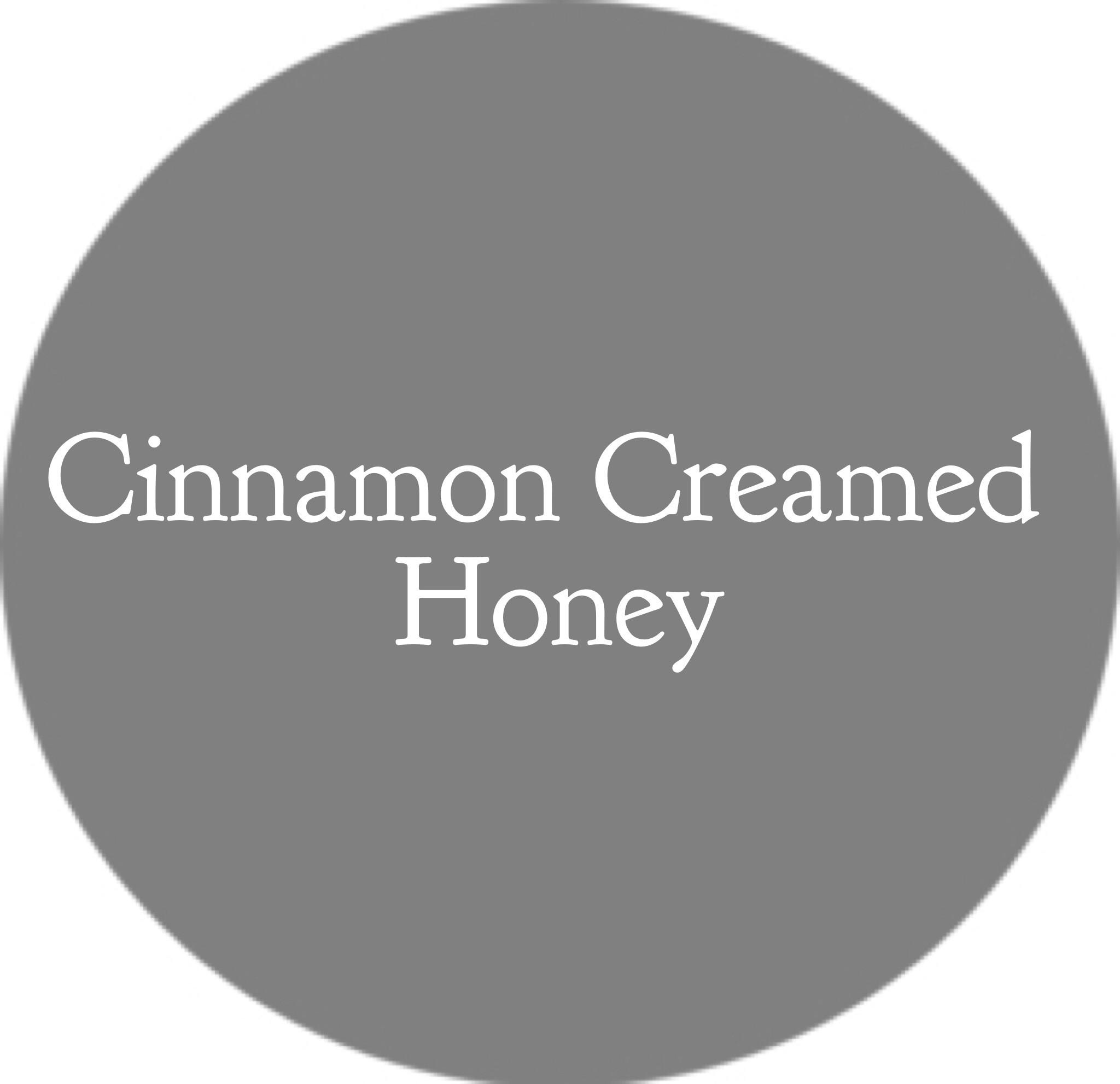 Honey- Cinnamon Creamed Honey