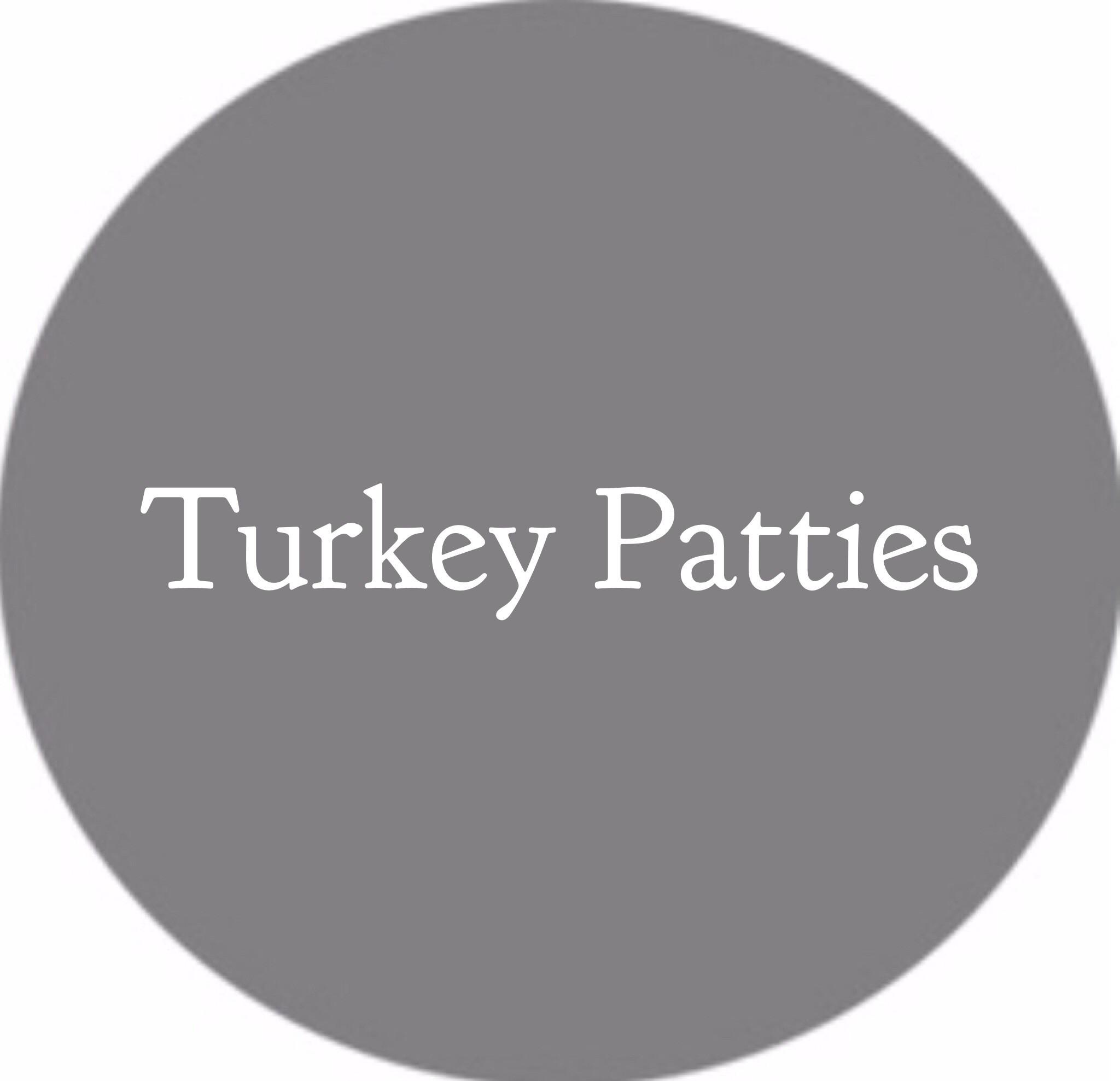 Turkey Patties